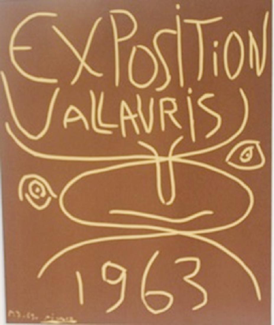 1963 Vallavris Lithograph -  Picasso