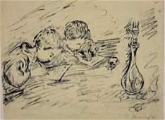 Pierre Bonnard - Two Childs