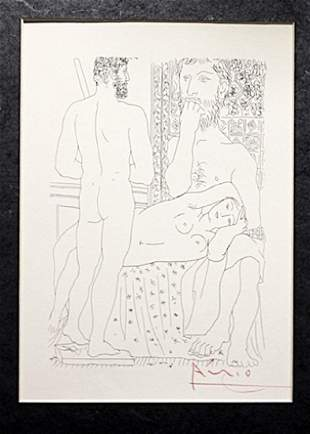 Signed Pablo Picasso