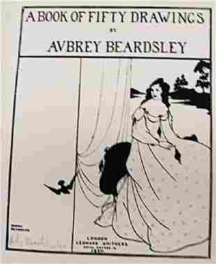 Beardsley Lithograph