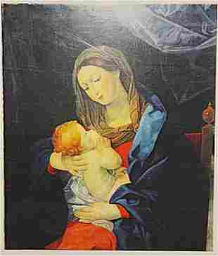 Quispe Tito Mother And Child