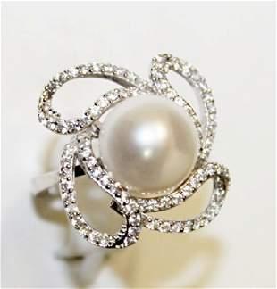 Beautiful Baroque Pearl Ring