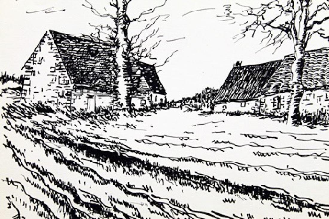 Les Challonges - Maurice De Vlaminck - Lithograph - 2