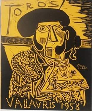 1958 Vallavris Lithograph Picasso