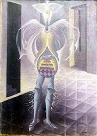 El Embarazo Oil Painting on Canvas Remedios Varo