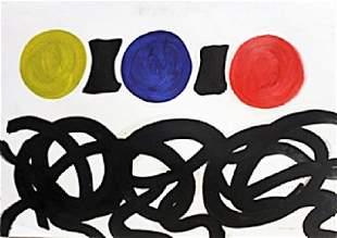 Untitled 1960 Adolph Gottlieb