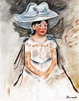 Portrait of Mandy Pastel P Bonnard