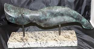Signed Limited Edition Bronze Constantin Brancusi