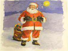 Santas Break By Michael Schofield