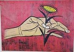 Bernard Buffet Flower