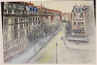 Maurice Utrillo Street Of Paris