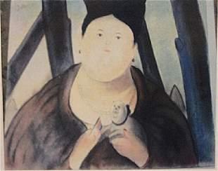 Fernando Botero Seora Gisela