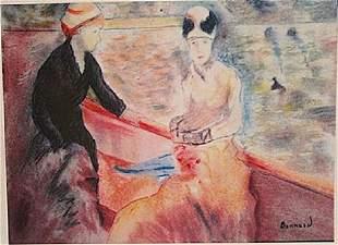 Pierre Bonnard Ride on the Lake