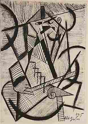 Umberto Boccioni Untitled