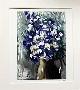 Flowers - Maurice De Vlaminck - Lithograph