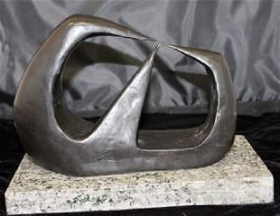 Bronze Sculpture Henry Moore