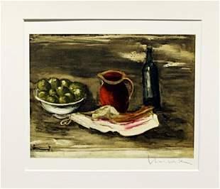 Still Life With Bacon Maurice De Vlaminck