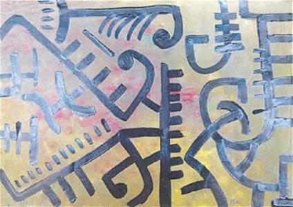 Paul Klee - Oil On Paper