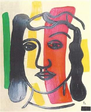 Woman II Fernand Leger Oil On Paper