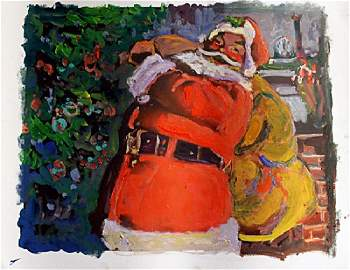 """""""Santa's First Stop"""" By Michael Schofield"""
