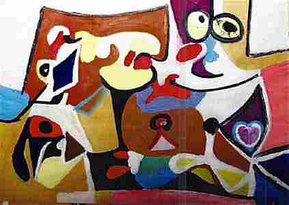 Composition - Arshile Gorky - Oil On Paper