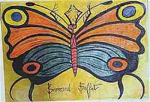 Bernard Buffet Butterfly II