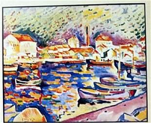 Venice Lithograph Braque