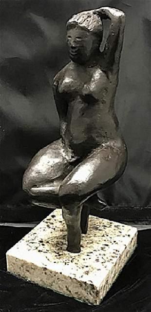 Bronze Sculpture Elie Nadelman