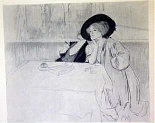 Dinner - Lithograph - legrand