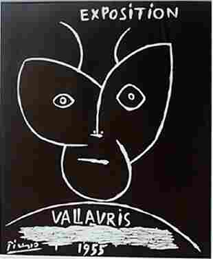 1955 Vallavris Lithograph - Picasso