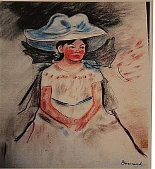 Pierre Bonnard - Portrait of Mandy