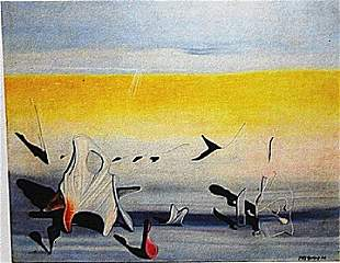 Yves Tanguy - Untitled