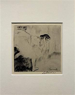 Gavroche - Louis Legrand - Drawing