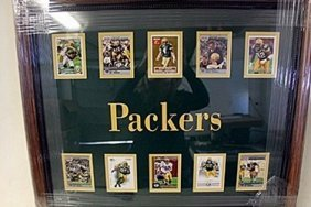 Packers Framed Collectible