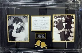 "Memorabilia ""elvis Wedding"""