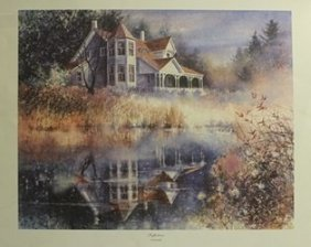 Lithograph Reflections - Rick Burger