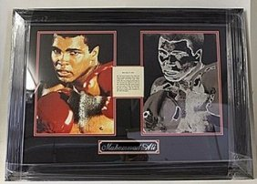 Muhammad Ali Giclee With Bio He5068