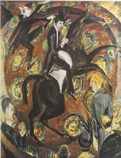 Lithograph Circus Rider - Ernst L. Kirchner