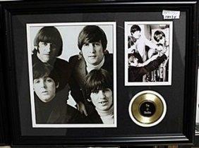 The Beatles Photograph & Gold Album Ar5734