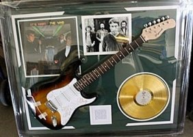 The Who Signed Guitar & Memorabilia