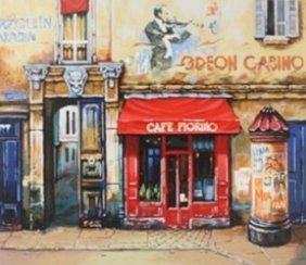 """""""café Fiorino"""" After Alexander Borewko"""