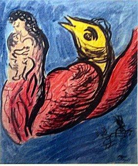 Marc Chagall - Motherhood