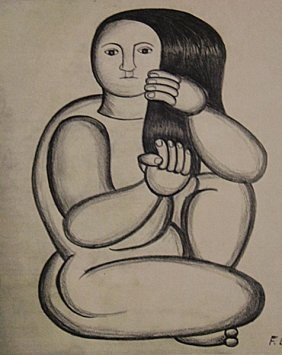 Fernand Leger - Woman Nude