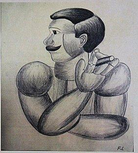 Fernand Leger - The Sailor Man