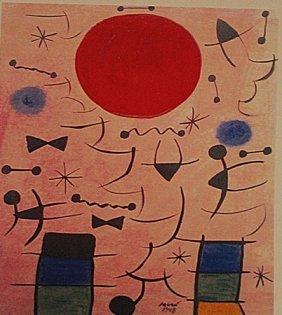 Joan Miro - El Sol