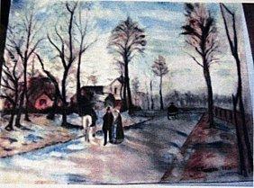Camille Pissarro - The Way In Eragny