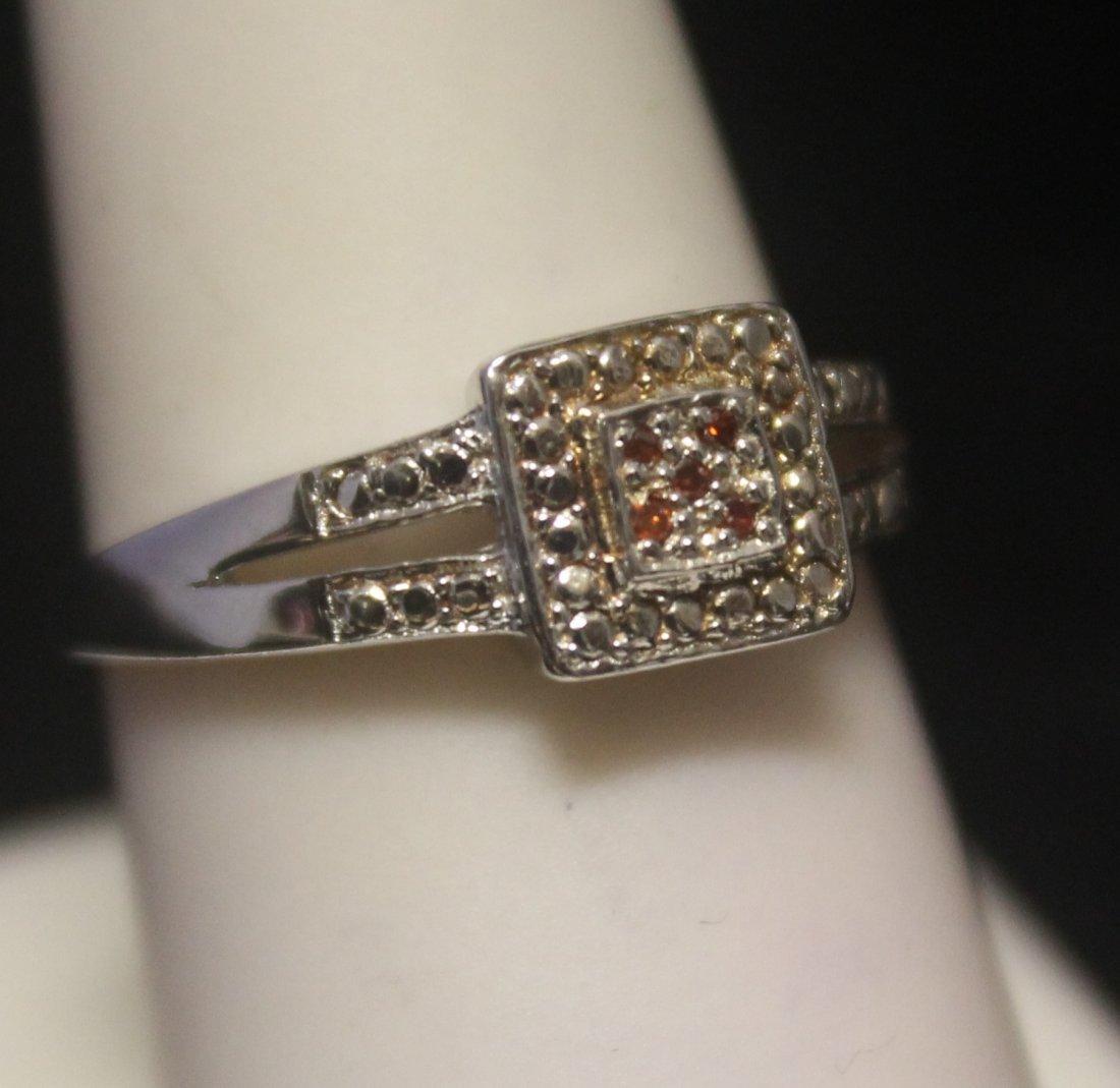 Gorgeous Diamonds Silver Ring