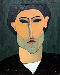 Portrait Of Andre - Amadeo Modigliani