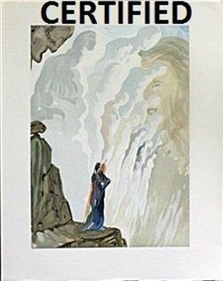 """""""Ecstatic Visions - Purgatory 12"""" By Salvador Dali"""