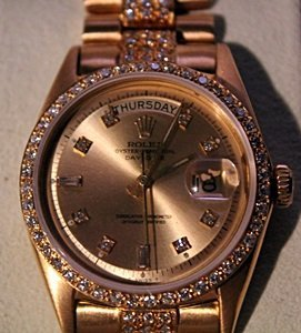 18kt Presidential Diamond Dial Rolex